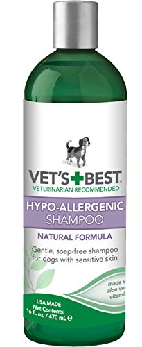 Best of – Vet's Best Hypo-Allergenic Dog Shampoo for Sensitive Skin, 16 oz – FREE SHIPPING