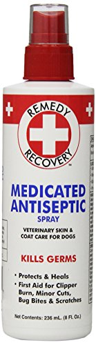 Best of – Remedy + Recovery Medicated Antiseptic Spray for Dogs, 8-Ounce – FREE SHIPPING
