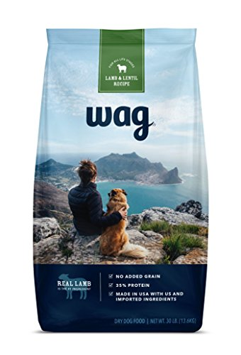 Best of – WAG Dry Dog Food, No Added Grain, Lamb & Lentil Recipe, 30 lb. Bag – FREE SHIPPPING