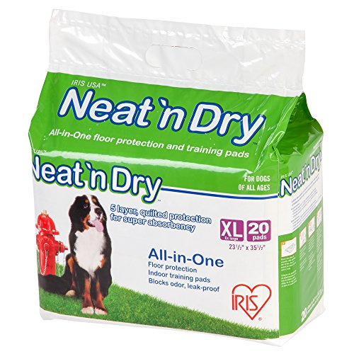 Best of – Neat 'n Dry Premium Pet Training Pads, Extra Large, 23.5″ x 35.5″, 20 Count – FREE SHIPPING