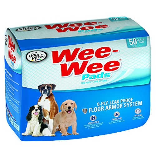 Best of – Four Paws Wee-Wee Dog Training Pads, 50-Pack – FREE SHIPPING