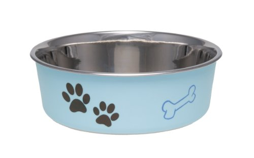 Best of – Loving Pets Bella Bowl for Dogs, Medium,  Murano Blue – FREE SHIPPING