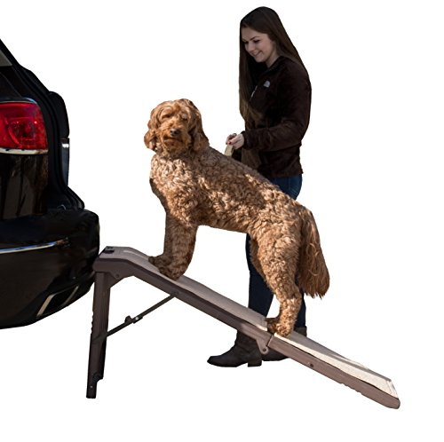 Best of – Pet Gear Free Standing Ramp for Cats and Dogs. Great for SUV's or use Next to your Bed. 4 Models to Choose from, Supports 200-300 lbs, Lightweight Easy-Fold Design – FREE SHIPPING