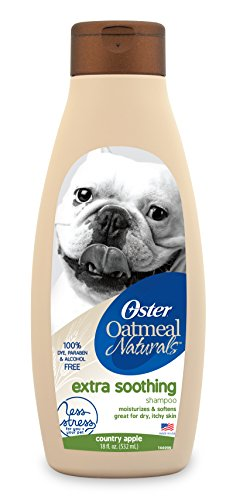 Best of – Oster Oatmeal Naturals Extra Soothing Dog Shampoo, Country Apple, 18 Fluid Ounces (078590-115-001) – FREE SHIPPING