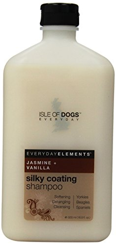 Best of – Everyday Isle of Dogs Silky Coating Dog Shampoo for Yorkies,Beagles and Spaniels (16.9 oz/Jasmine and Vanilla) – FREE SHIPPING
