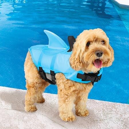 SwimWays Sea Squirts Doggie Jacket