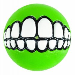 ROGZ GR02-L Fun Dog Treat Ball in various sizes and colors, Medium, Lime
