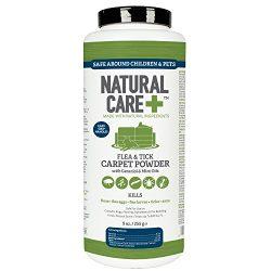 Natural Care Flea and Tick Carpet Powder, 9 oz