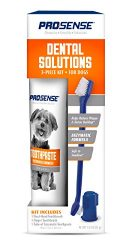ProSense Dental Solutions For Dogs, Enzymatic Formula, 3-Piece Kit