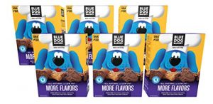 Blue Dog Bakery Dog Treats | All-Natural | Low-Fat | Assorted Flavors | 20oz (Pack of 6)