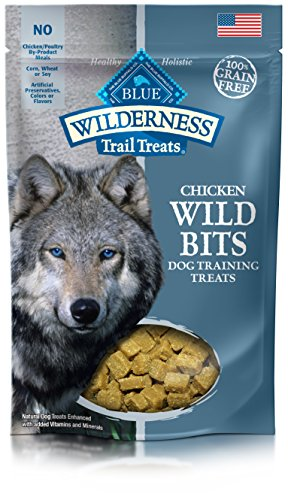 Best of – BLUE Wilderness Trail Treats Grain Free Wild Bits Chicken Recipe Dog Treats 4-oz – FREE SHIPPPING