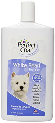 Best of – Perfect Coat White Pearl Shampoo for Dogs, 32-Ounce – FREE SHIPPING