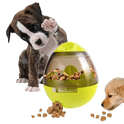 Best of – Swenter Treat Ball Dog Toy,Interactive Food Dispensing,Increases IQ and Slow Fun Feeder Feed Pet Food Ball Foraging Treat Toy for Dog Cat – FREE SHIPPING