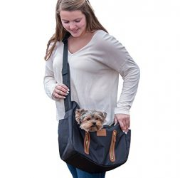 Pet Gear R&R Sling Carrier for Cats/Dogs, Storage Pockets, Removable Washable Liner, Zippered Top with Mesh Window