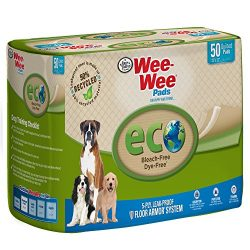 Four Paws Wee-Wee Eco Dog & Puppy Pads, 50 Ct