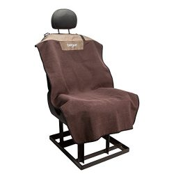 Bergan Bucket Seat Cover, Premium Microfiber, Mole' Brown