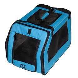 Pet Gear Signature Pet Car Seat & Carrier for cats and dogs up to 20-pounds, Aqua