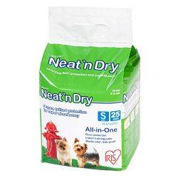 IRIS Neat 'n Dry Premium Training Pads, Small, 17″ x 17″, 200 Count