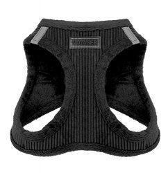 Voyager Soft Harness for Pets – No Pull Vest, Best Pet Supplies, Large, Black Corduroy