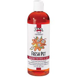 Top Performance Fresh Pet Shampoo Prevents Mats and Tangles – Matches Natural pH Balance of Pet's Coat and Skin, 17 Oz.