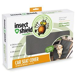 Insect Shield Insect Repellant Car Seat Cover for Protecting Dogs from Fleas, Ticks, Mosquitoes & More