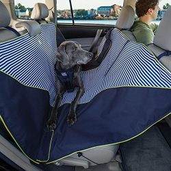 Kurgo Dog Hammock Seat Cover, Nantucket Stripe Pattern