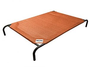 The Original Elevated Pet Bed By Coolaroo – Small Terracotta
