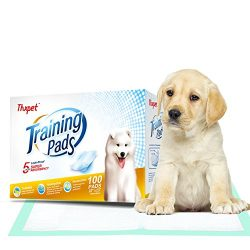 Thxpet Puppy Pads Super Absorbent Leak-proof 100 Count Dog Pee Training Pads 22 x 23 inch