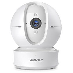 IP Camera, ANNKE Nova Orion 1080P HD Pan/Tilt WiFi Wireless Security Camera, Work with Alexa(Echo Show/Fire TV), Google Assistant and IFTTT, Cloud Service Available