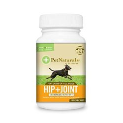 Pet Naturals of Vermont – Hip + Joint for Dogs, Daily Joint Support Supplement, 90 Chewable Tablets