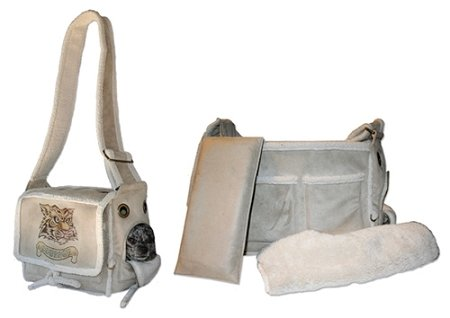 Pet Flys Natural Sherpa Pony Express Airline Pet Carrier