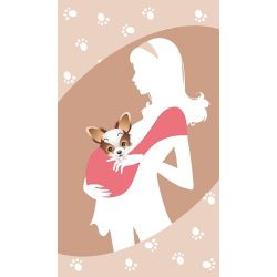 Puppy Luck Pet Sling Carrier