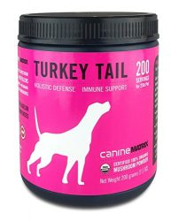 Canine Matrix Organic Mushroom Supplement for Dogs, Turkey Tail, 200 grams