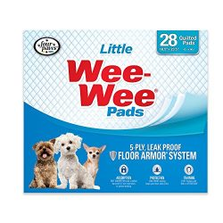 Four Paws Little Wee-Wee Dog & Puppy Training Pads, 28 Ct