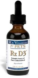 Rx Vitamins D3 Pet Food, 2 fl. oz./One Size