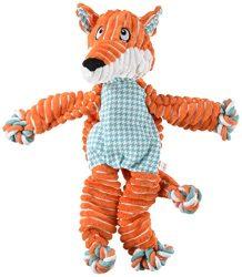 KONG Floppy Knots Fox, Dog Toy, Medium/Large