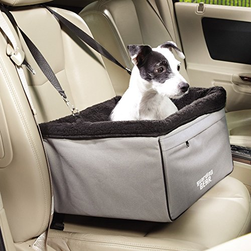 Guardian Gear Sightseer II Car Seats — Practical Car Seats for Dogs – Large, Slate