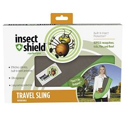 Insect Shield Insect Repellant Reversible Dog Sling Carrier for Protecting Dogs from Fleas, Ticks, Mosquitoes & More