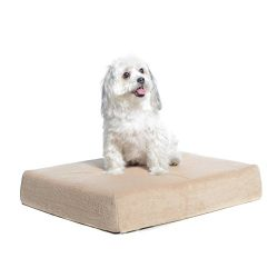 Milliard Premium Orthopedic Memory Foam Dog Bed with Anti-Microbial Removable Waterproof Washable Non-slip Cover – (Small) 60cm x 45cm x 10cm