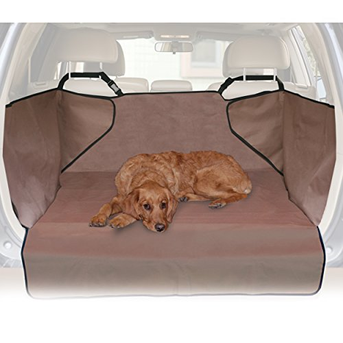 K&H Pet Products Economy Cargo Cover Tan – Protects Cargo Area of Your Car