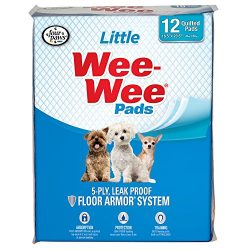 Four Paws Little Wee-Wee Dog & Puppy Training Pads, 12 Ct