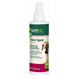 PetNC Natural Care Hot Spot Spray for All Pets, 8-Ounce