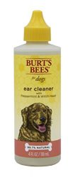 Burt's Bees for Dogs Ear Cleaning Solution with Peppermint and Witch Hazel, 4 Ounces
