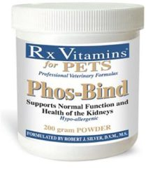 Rx Vitamins Phos-Bind Powder, 200g/One Size
