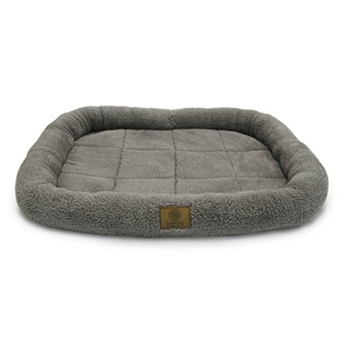 American Kennel Club Crate Mat, 30 by 22-Inch, Gray