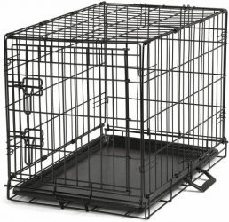 Proselect Easy Dog Crates for Dogs and Pets – Black; Extra Large