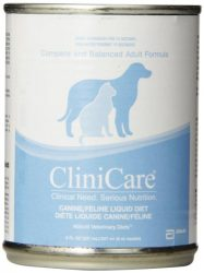 Abbott Laboratories CliniCare Canine/Feline Nutritionally Liquid Diet, 8-Ounce