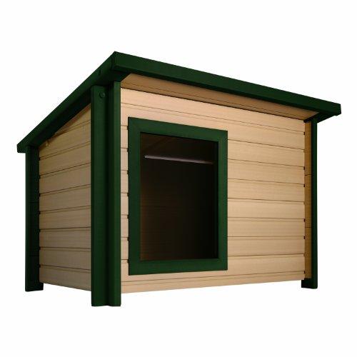 ecoFLEX Rustic Lodge Style Dog House