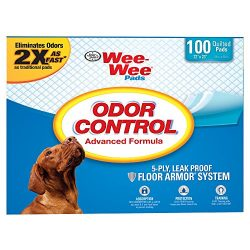 Four Paws We-Wee Odor Control Puppy Pads by, 100 Ct