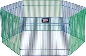 MidWest Homes for Pets Small Animal Pet Playpen/Exercise Pen